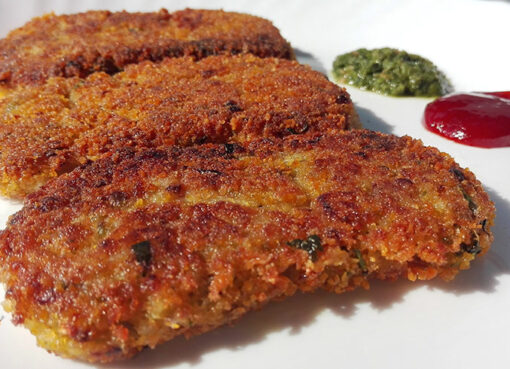 Rice-Cutlet by foodsfunda.com