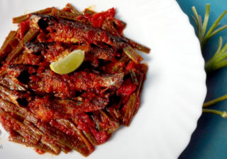 tangra-fish-curry or tangra macher jhal