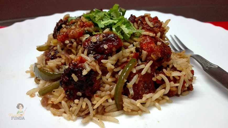 veg-manchurian-fried-rice